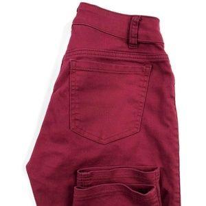 Peter Nygard Slim Straight Stretch Pants